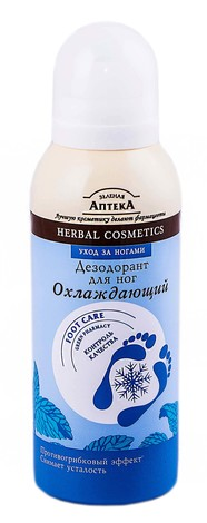 Зелена Аптека Дезодорант для ніг охолоджуючий 150 мл 1 флакон