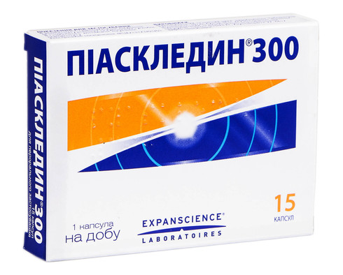 Піаскледин капсули 300 мг 15 шт