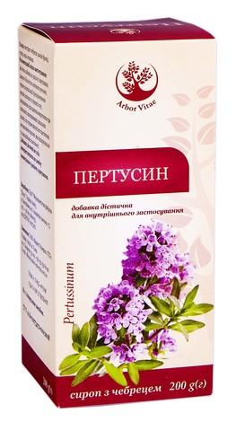 Arbor Vitae Пертусин сироп 200 мл 1 флакон