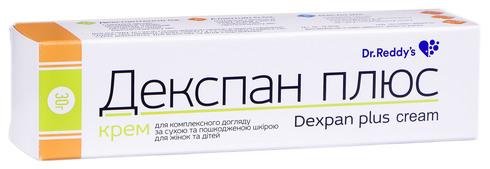 Декспан Плюс крем 30 г 1 туба