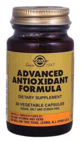 Solgar Антиоксидантна формула капсули 30 шт