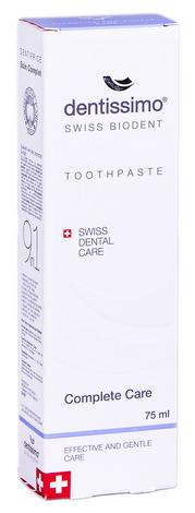 Dentissimo Зубна паста Комплексний захист 75 мл 1 туба