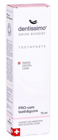 Dentissimo Зубна паста Про-захист зубів та ясен 75 мл 1 туба