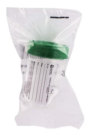 Волес Ємкість для сечі стерильна 60 мл 1 шт