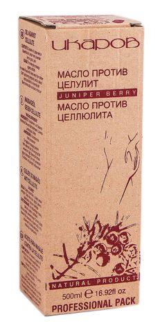 Ікаров Олія проти целюліту Ялівець 500 мл 1 флакон з дозатором