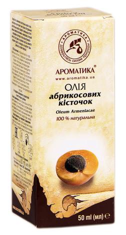 Ароматика Олія абрикосових кісточок 50 мл 1 флакон