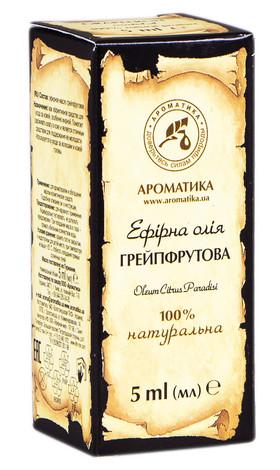 Ароматика Олія ефірна грейпфрутова 5 мл 1 флакон
