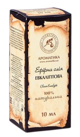 Ароматика Олія ефірна евкаліптова 10 мл 1 флакон