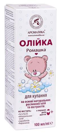 Ароматика Олійка дитяча для купання Ромашка 100 мл 1 флакон