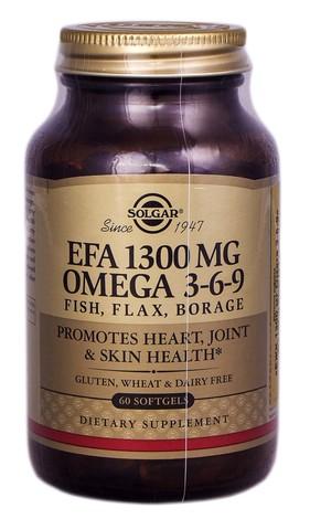 Solgar Омега 3-6-9 капсули 1300 мг 60 шт