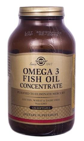 Solgar Концентрат риб`ячого жиру Омега 3 капсули 120 шт