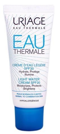 Uriage Eau Thermale Крем зволожуючий легкий сонцезахисний SPF-20  40 мл 1 туба