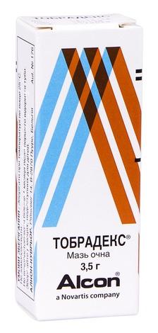Тобрадекс мазь очна 3,5 г 1 туба
