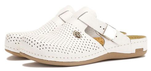 Leon 950 Медичне взуття жіноче білого кольору 40 розмір 1 пара