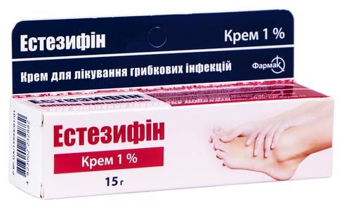 Естезифін крем 1 % 15 г 1 туба