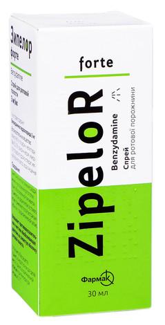 Зіпелор форте спрей для ротової порожнини 3 мг/мл 30 мл 1 флакон