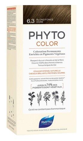 Phyto Color Крем-фарба тон №6.3 темно-русий золотистий 1 комплект