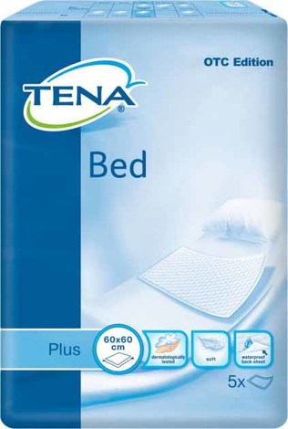 Tena Bed Plus Пелюшки 60х60 см 5 шт