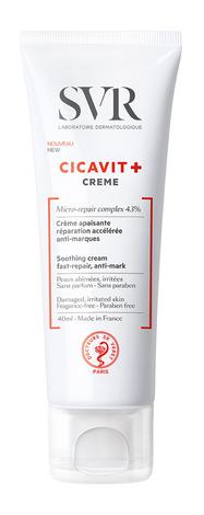 SVR Cicavit+ Крем заспокійливий для подразненої шкіри 40 мл 1 туба