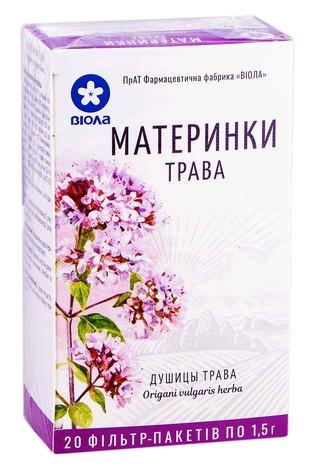 Віола Материнки трава 1,5 г 20 фільтр-пакетів