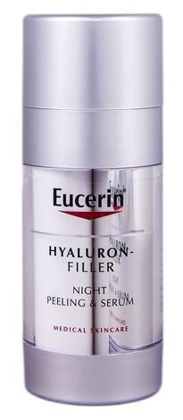 Eucerin Hyaluron-Filler Пілінг та сироватка Нічний догляд 30 мл 1 флакон