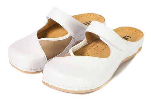 Leon 953 Медичне взуття жіноче білого кольору 39 розмір 1 пара