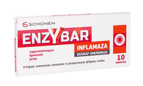 Ензібар Інфламаза таблетки 20 шт