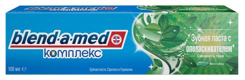 Blend-a-med Зубна паста комплекс 7 з ополіскувачем трави 100 мл 1 туба