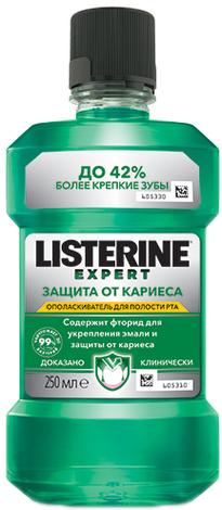 Listerine Ополіскувач для ротової порожнини Захист від карієсу 250 мл 1 флакон