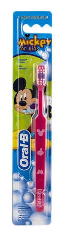 Oral-B Kids Mickey Зубна щітка м'яка дитяча 1 шт