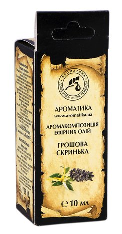 Ароматика Аромакомпозиція ефірних олій Грошова скринька 10 мл 1 флакон