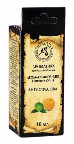 Ароматика Аромакомпозиція ефірних олій Антистресова 10 мл 1 флакон