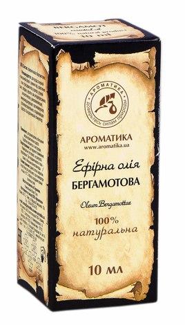 Ароматика Олія ефірна бергамотова  10 мл 1 флакон