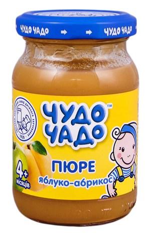 Чудо-Чадо Пюре яблуко-абрикос з цукром з 4 місяців 170 г 1 банка
