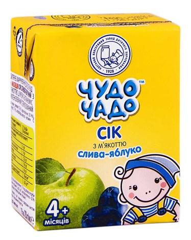 Чудо-Чадо Сік слива-яблуко з 4 місяців 200 мл 1 пакет
