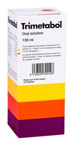 Тріметабол розчин оральний 150 мл 1 флакон