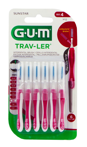Gum Trav-Ler Зубна щітка міжзубна 1,4 мм 6 шт