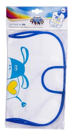 Canpol Babies Нагрудник м'який пластиковий з 6 місяців 2/919 1 шт