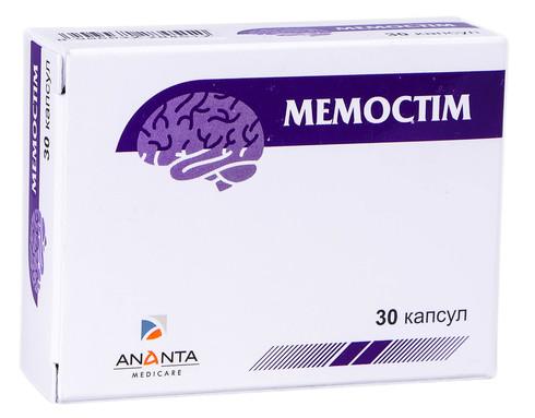 Мемостім капсули 30 шт