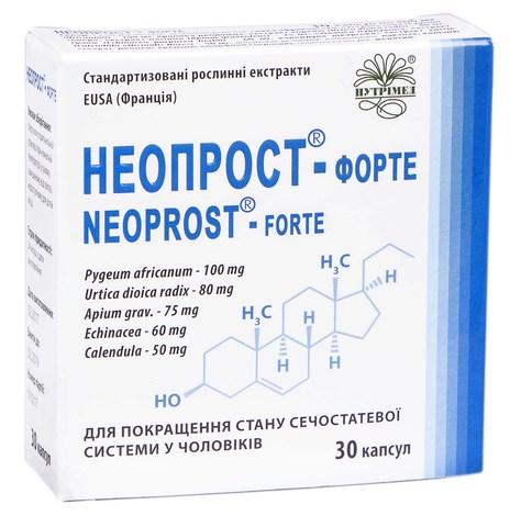 Неопрост-Форте капсули 400 мг 30 шт