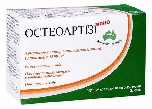 Остеоартізі Моно порошок для орального розчину 1,5 г 30 шт