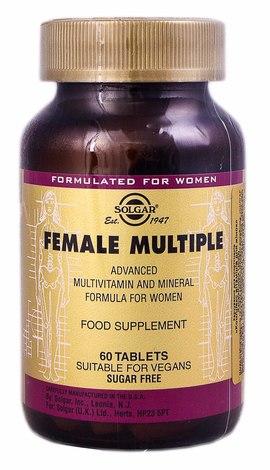 Solgar Комплекс вітамінів для жінок таблетки 60 шт