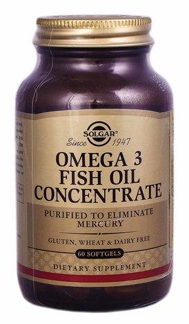 Solgar Концентрат риб`ячого жиру Омега 3 капсули 60 шт