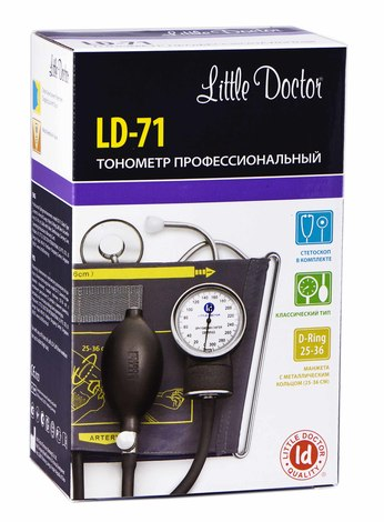 Little Doctor LD-71 Тонометр механічний 1 шт