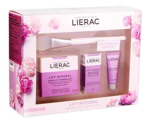 Lierac Lift Integral крем 50 мл + сироватка для контуру очей 3 мл + маска 10 мл + щітка 1 набір