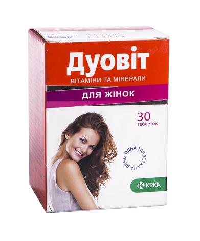 Дуовіт для жінок таблетки 30 шт