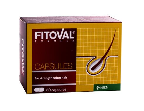 Fitoval Вітаміни для пошкодженого волосся капсули 60 шт