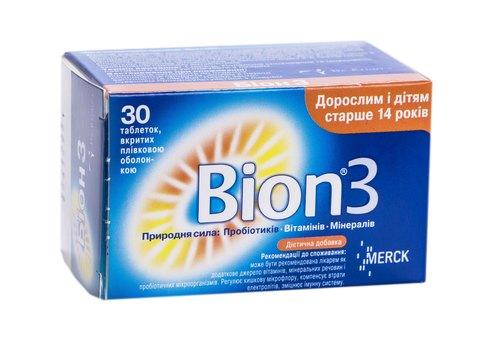 Біон 3 таблетки 30 шт
