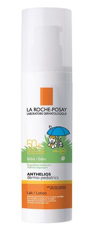 La Roche-Posay Anthelios Дермо-Педіатрікс Молочко сонцезахисне для чутливої шкіри немовлят SPF-50+ 50 мл 1 туба