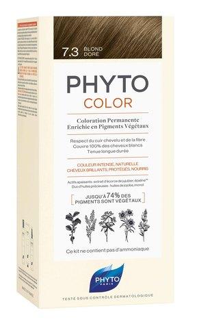 Phyto Color Крем-фарба тон №7.3 золотисто-русий 1 комплект